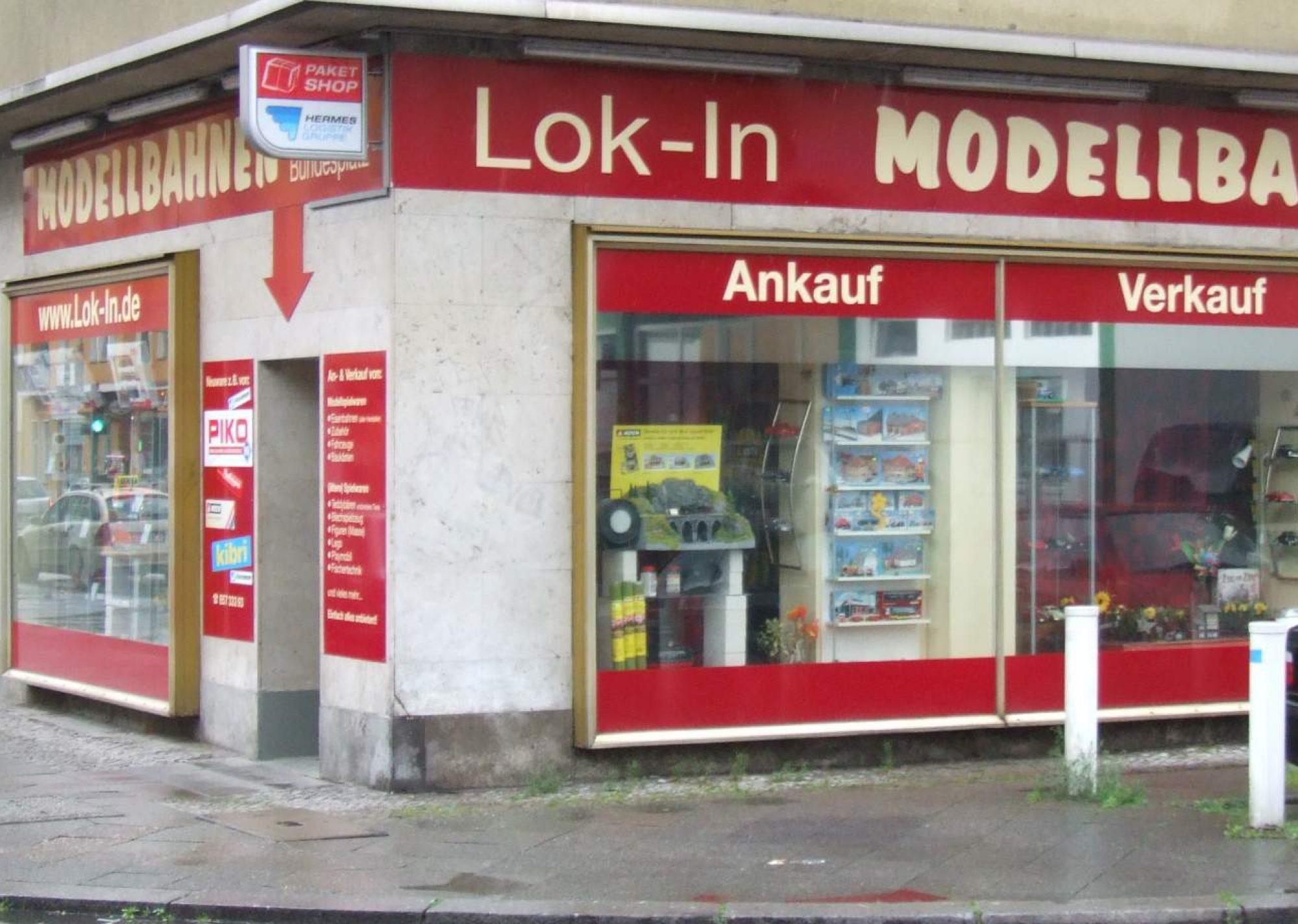Lok-In Ankauf + Verkauf Modelleisenbahn Modellautos in Berlin